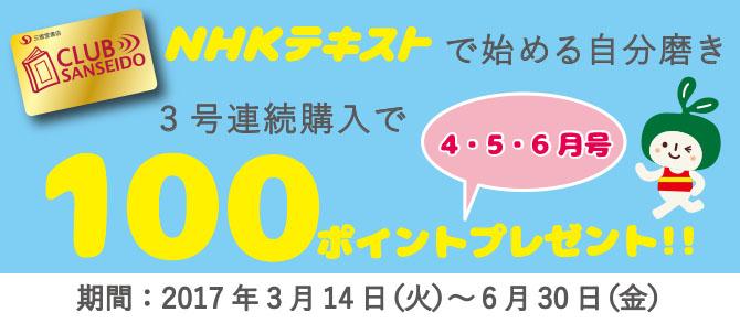 NHKテキスト 100Pアップ